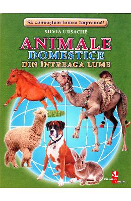 Animale domestice din intreaga lume - Cartonase - Silvia Ursache