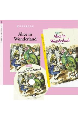 Alice In Wonderland - Lewis Carroll (Compass Classic Readers Nivelul 2)