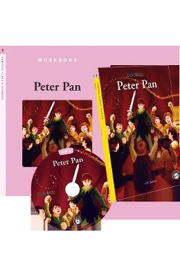 Peter Pan - J.M. Barrie (Compass Classic Readers Nivelul 2)