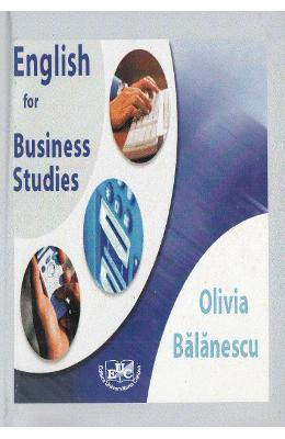 English for Business Studies - Olivia Balanescu