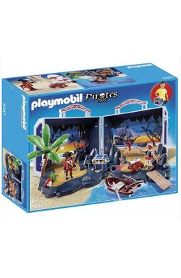 Playmobil - Set Mobil Insula Piratilor 4-10 Ani