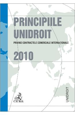Principiile Unidroit Privind Contractele Comerciale Internationale