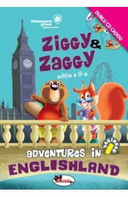 Ziggy and Zaggy. Adventures in Englishland + 2CD
