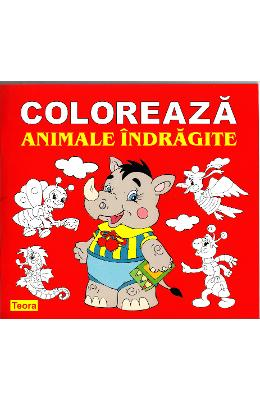 Coloreaza animale indragite