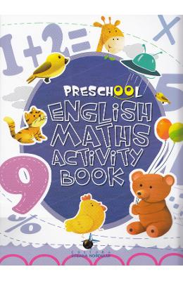 Preschool English Maths Activity Book de la libris.ro