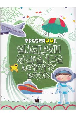 Preschool English Science Activity Book
