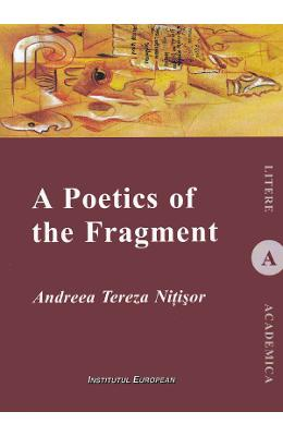 Imagine A Poetics Of The Fragment - Andreea Tereza Nitisor