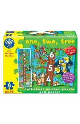 One, two, three, Floor puzzle. Puzzle de podea, Invatam sa numaram