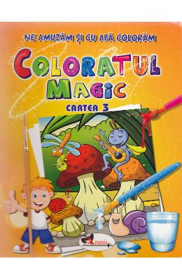 Coloratul magic cartea 3 - Ne amuzam si cu apa coloram