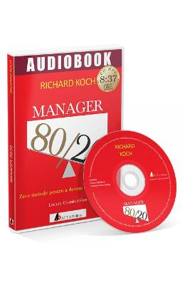 CD Manager 80/20 - Richard Koch in romana | Download pfd online | Pret la reducere