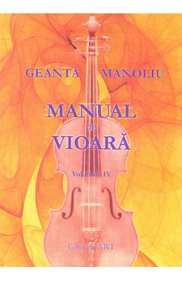 cartea Manual de vioara vol. 4 - Geanta Manoliu pdf