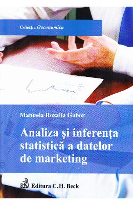 Analiza si inferenta statistica a datelor de marketing - Manuela Rozalia Gabor