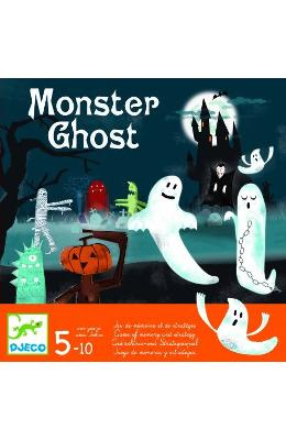 Monster Ghost. Joc de memorie