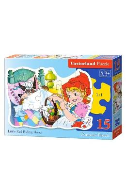 Puzzle 15 Castorland - Little Red Riding Hood