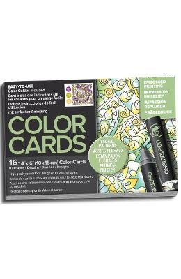 Carte de colorat - Chameleon Floral Patterns