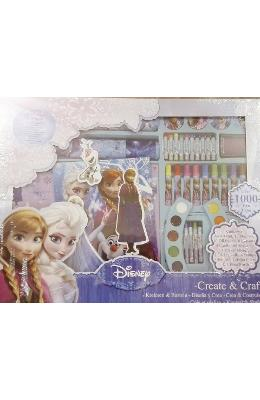 Set creativ Frozen + O zi de vara perfecta in romana | Download pfd online | Pret la reducere