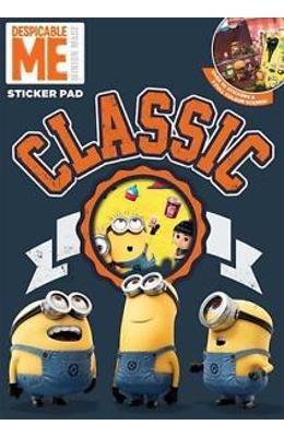 Despicable Me  Classic Sticker Pad. Carte Cu Stickere