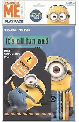 Despicable Me, Colouring pad. Mini set de joaca