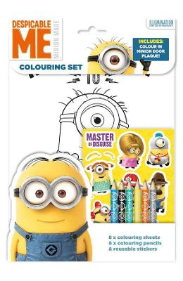 Despicable Me, Colouring set. Set de colorat
