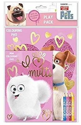 Pets, Play Pack. Set de colorat