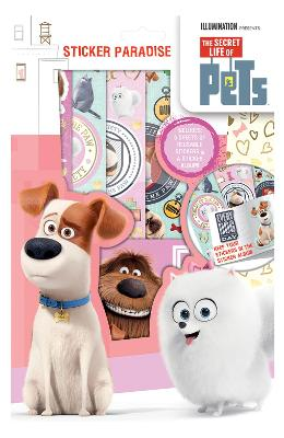 Pets, Sticker Paradise. Set abtibilduri