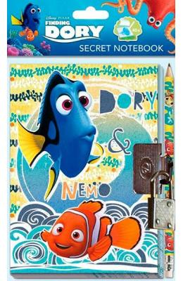 Finding Dory, Secret notebook. Jurnal cu lacat