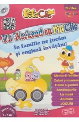Cd-rom Piticlic - Un Weekend Cu Piticlic