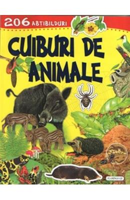 Cuiburi de animale. 206 Abtibilduri