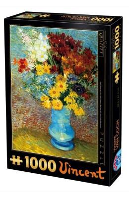 Puzzle 1000 Vincent Van Gogh - Flowers in Blue Vase