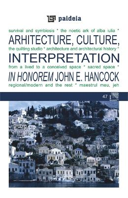 Arhitecture, Culture, Interpretation