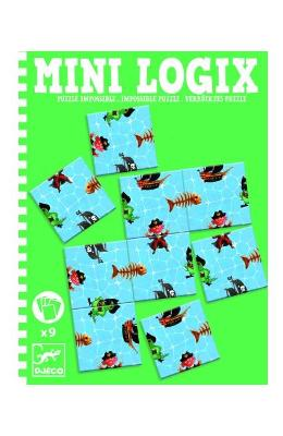 Mini Logix. Puzzle impossible. Puzzle imposibil, Pirati
