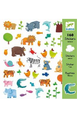 160 Stickers  Animaux. Abtibilduri  Animale
