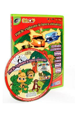 CD-ROM Piticlic - Piticlic explorator in lumea animalelor