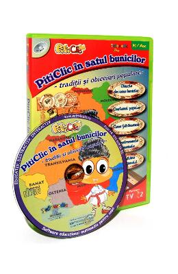 CD PitiClic - PitiClic in satul bunicilor