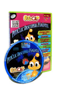 CD PitiClic - PitiClic descopera Pamantul
