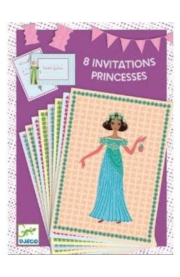 8 Invitations. Invitatii  Printese
