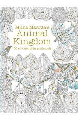 Millie Marottas Animal Kingdom Postcard Box - Millie Marotta
