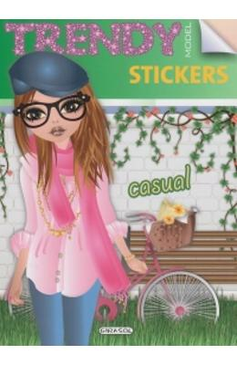 Trendy model stickers - Casual