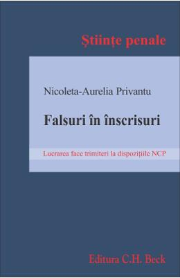 Falsuri in inscrisuri - Nicoleta-Aurelia Privantu