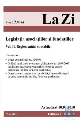 Legislatia asociatiilor si fundatiilor vol. II  act 10.07.2010