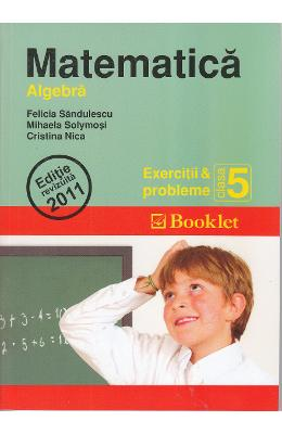 Matematica Cls 5 Exercitii Si Probleme Algebra - F
