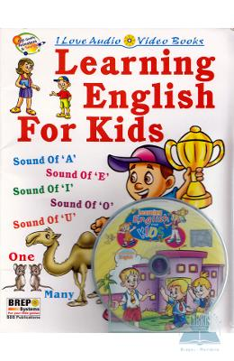 Learning English For Kids + Cd