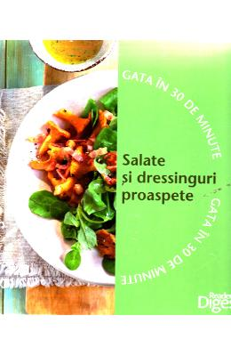 Set Gata in 30 de minute: Budinci si preparate gratinate + Salate si dressinguri proaspete
