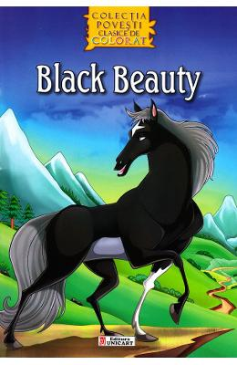 Black Beauty - Povesti clasice de colorat