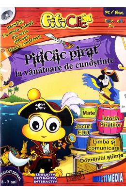 Cd-rom Piticlic - Piticlic Pirat La Vanatoare De C