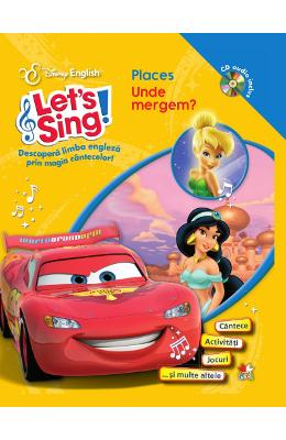 Lets sing! - Places - Unde mergem? - Carte+CD