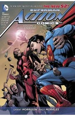 Superman Action Comics Vol 2 Bulletproof