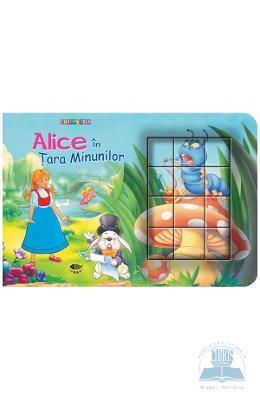 Cubopuzzle - Alice in tara minunilor