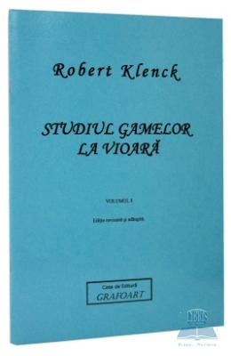 Studiul gamelor la vioara vol. I - Robert Klenck