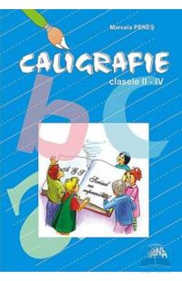 Manual caligrafie clasa 2 - 4 - Marcela Penes